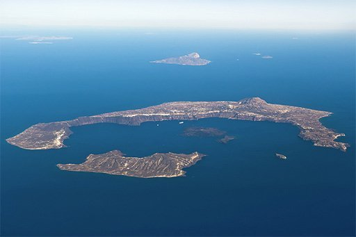 Santorini Aerial Picture