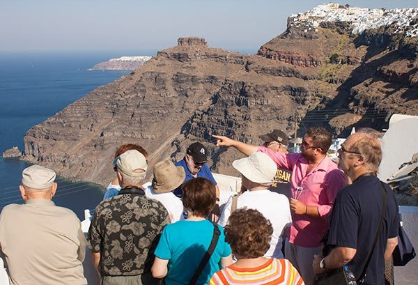santorini tour guide
