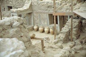 akrotiri excavations
