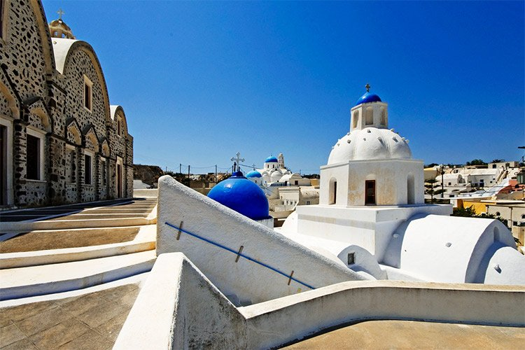 santorini guided walk